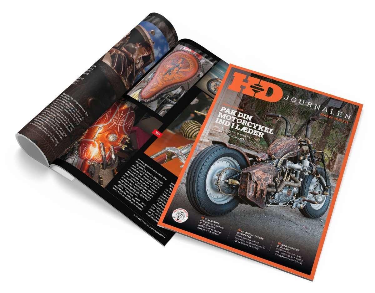 grafisk design af magasiner